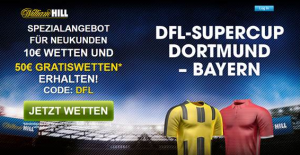 Gratiswetten bei William Hill